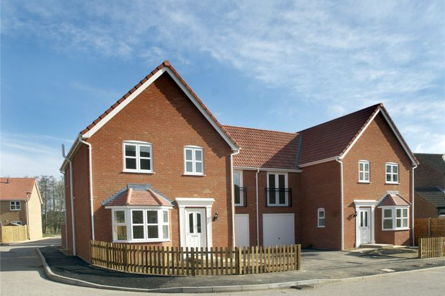Thumbnail Semi-detached house for sale in Woodlands, Townhouse Road, Old Costessey, Norwich