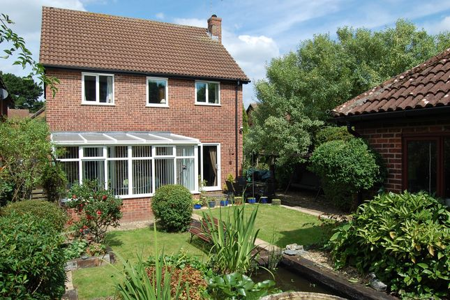 Thumbnail Detached house for sale in Haughgate Close, Woodbridge
