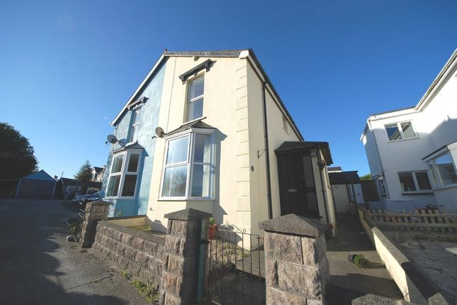 Semi-detached house for sale in Bryn Place, Penparcau, Aberystwyth
