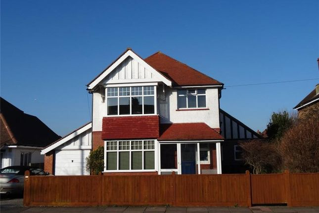 Thumbnail Detached house for sale in St Lawrence Avenue, Tarring, Worthing