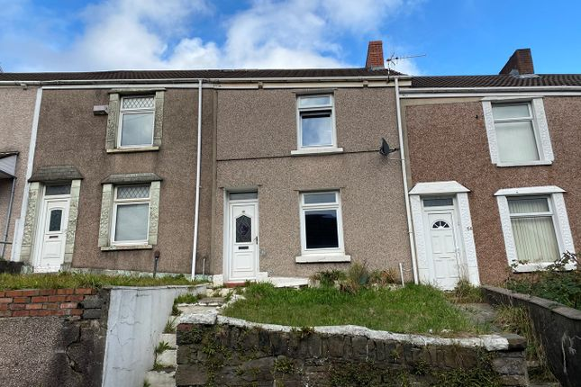 Thumbnail Terraced house to rent in Middle Road, Cwmbwrla, Swansea