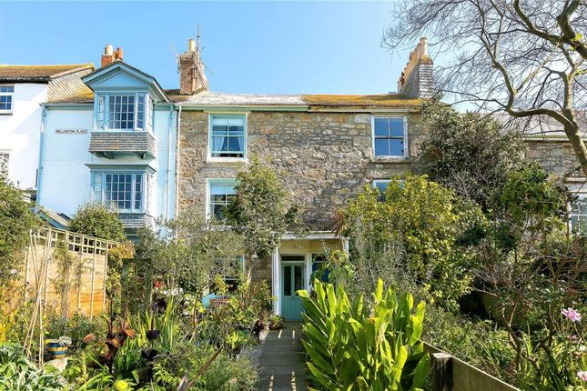 Thumbnail Terraced house for sale in Wellington Place, Penzance, Cornwall