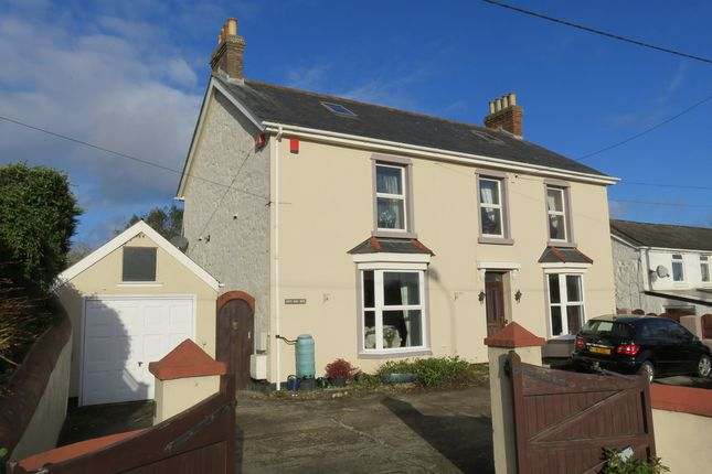 Thumbnail Detached house for sale in Canonstown, Hayle