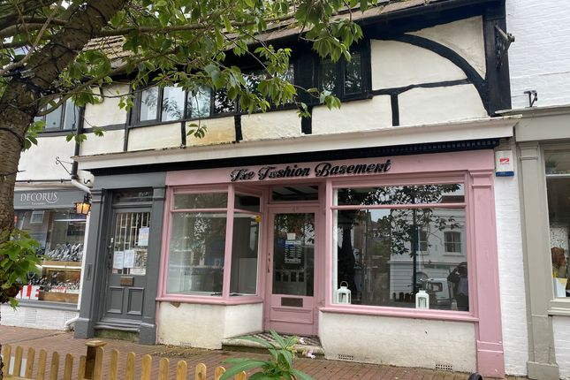 Thumbnail Retail premises to let in 4A High Street, East-Grinstead