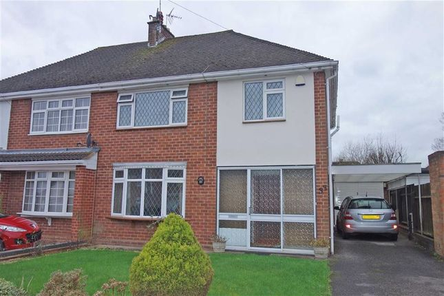 Thumbnail Semi-detached house for sale in Ridgeway Avenue, Styvechale, Coventry