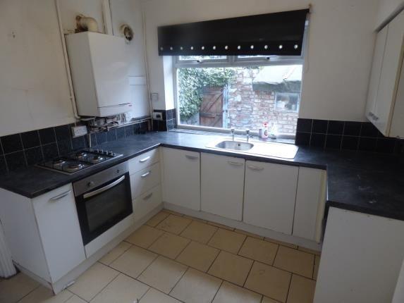 Kitchen of Tilney Street, Liverpool, Merseyside L9