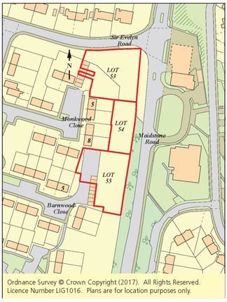 Thumbnail Land for sale in Monkwood Close, Rochester