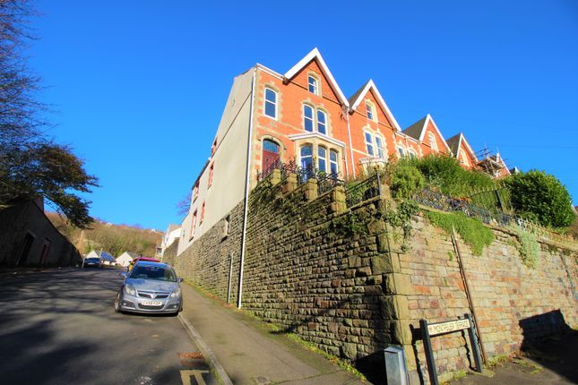 Thumbnail End terrace house for sale in Montpelier Terrace, Swansea