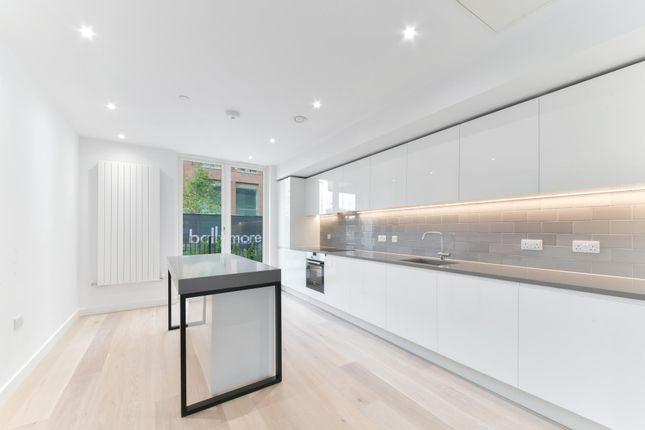 Thumbnail Town house to rent in Royal Crest Avenue, Royal Wharf, London