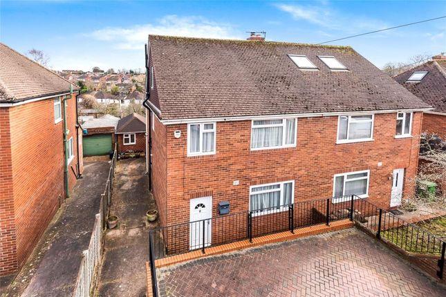 Thumbnail Semi-detached house for sale in Warwick Avenue, Heavitree, Exeter, Devon