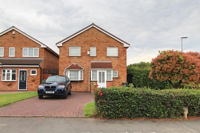 Thumbnail Detached house for sale in Parkhall Crescent, Castle Bromwich, Birmingham