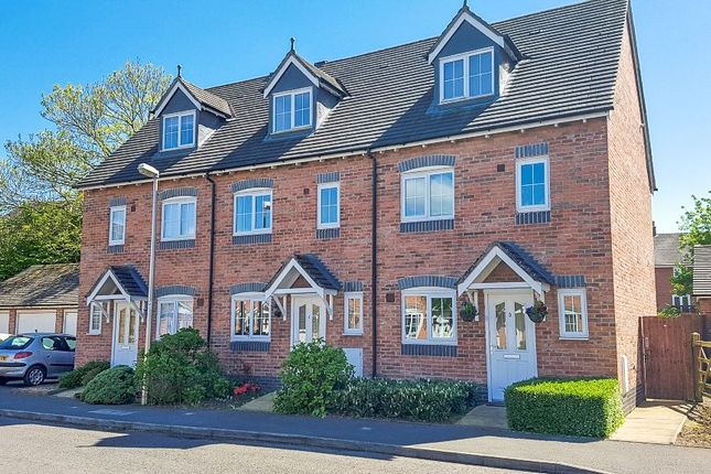 Thumbnail Town house to rent in Taylor Drive, Nantwich