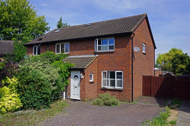Thumbnail Semi-detached house for sale in Burns Close, Hitchin