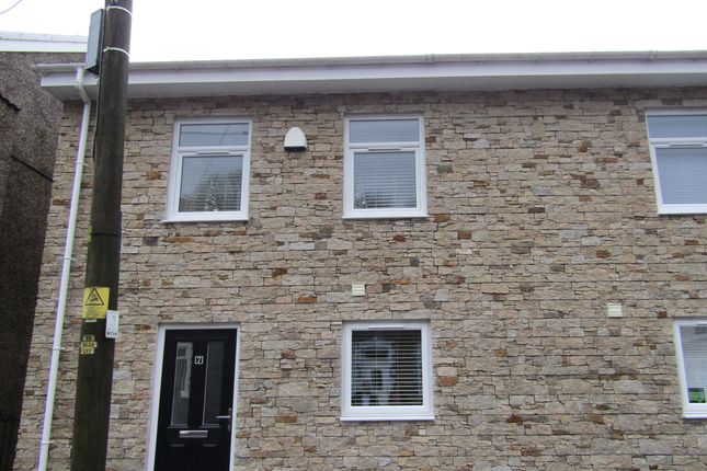 Thumbnail Semi-detached house for sale in Brynhyfryd Street, Cwmaman