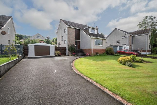 Thumbnail Detached house for sale in Dykedale, Dunblane