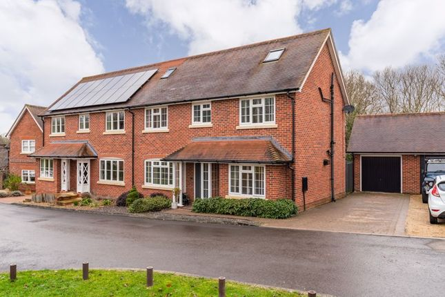 Semi-detached house for sale in Casbrook Field, Romsey
