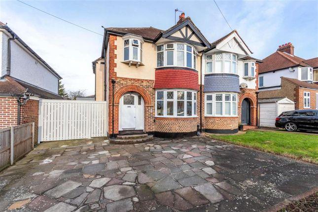 3 bed semi-detached house for sale in Ravensfield Gardens, Ewell, Epsom KT19