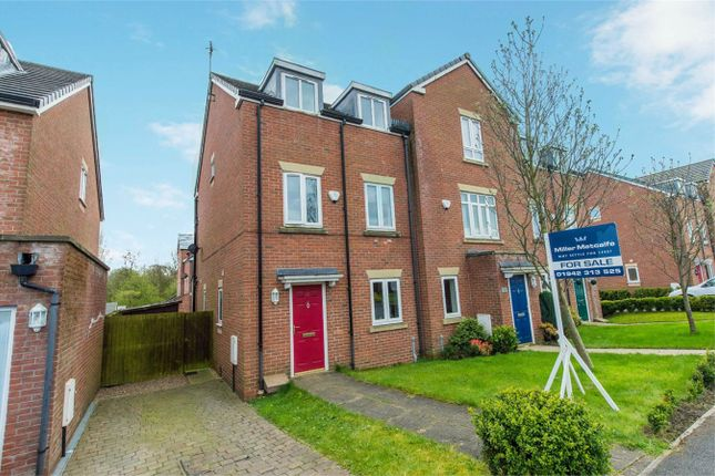 Thumbnail Town house for sale in Heathlea, Hindley Green, Wigan