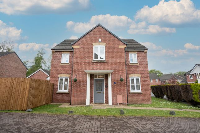 Thumbnail Detached house for sale in Tulip Walk, Rogerstone