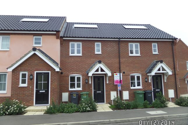 Thumbnail Terraced house to rent in Spencer Crescent, Diss