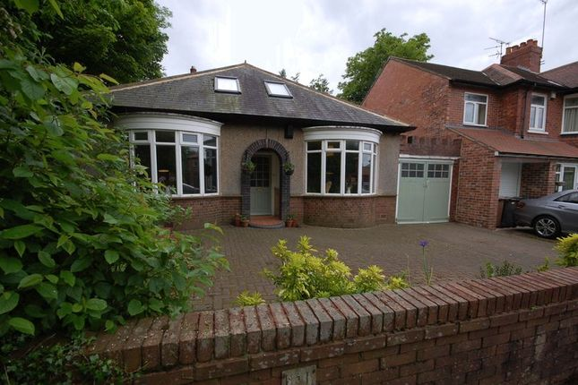 Thumbnail Detached bungalow for sale in Hastings Avenue, Benton, Newcastle Upon Tyne
