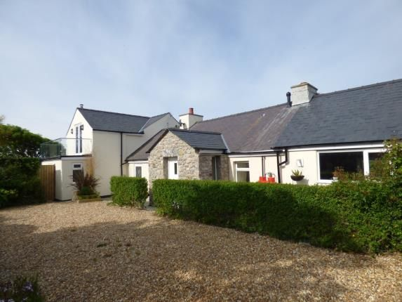 Thumbnail Detached house for sale in Llanfaethlu, Anglesey