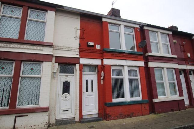 Thumbnail Terraced house to rent in Lunt Road, Bootle