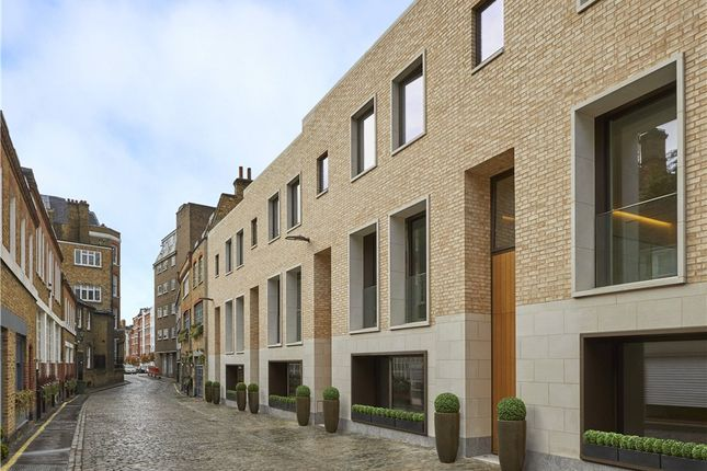 Thumbnail Mews house for sale in Townhouse 4, The London, 22D Beaumont Mews, Marylebone, London