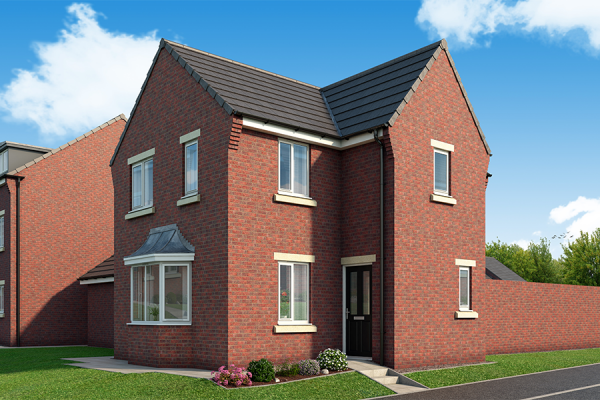 "Thumbnail Property for sale in ""The Canterbury At Derwent Heights"" at Off Ravensworth Road, Dunston"