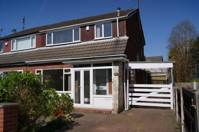 Thumbnail Semi-detached house to rent in Moorcroft Road, Allerton, Liverpool