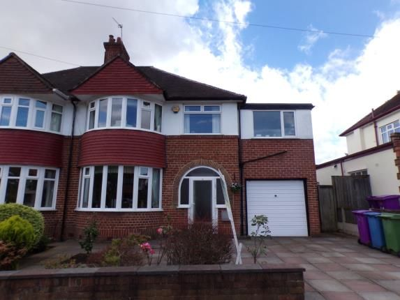 Thumbnail Semi-detached house for sale in Childwall Park Avenue, Childwall, Liverpool, Merseyside