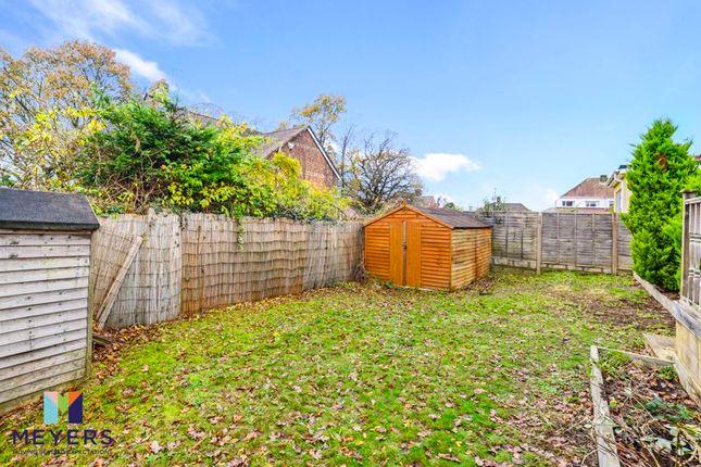 Rear Garden of Hamble Road, Oakdale, Poole BH15