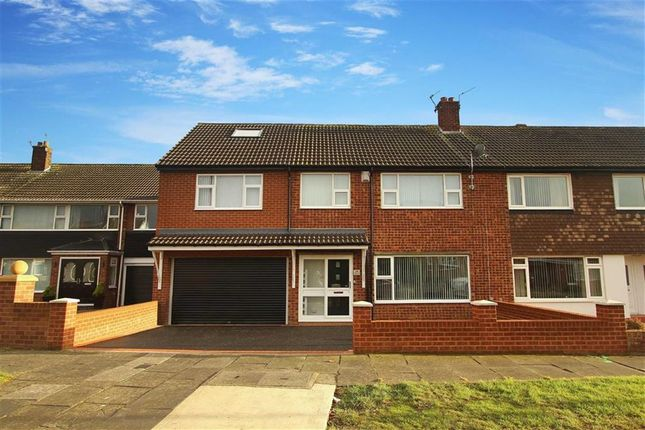 Thumbnail Semi-detached house for sale in Malvern Road, North Shields, Newcastle Upon Tyne