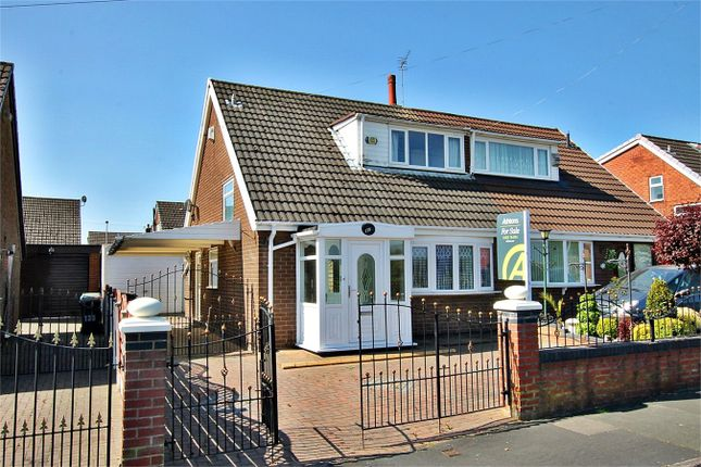 Thumbnail Semi-detached bungalow for sale in Ashton Road, Golborne, Warrington