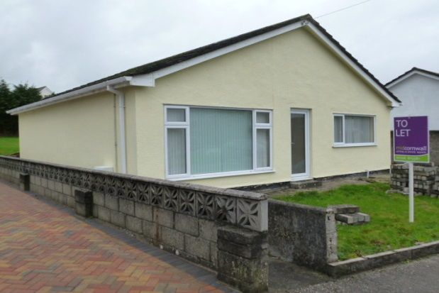 Thumbnail Detached bungalow to rent in Mitchell Road, St. Austell