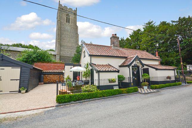 Thumbnail Detached house for sale in Church Road, Tibenham, Norwich