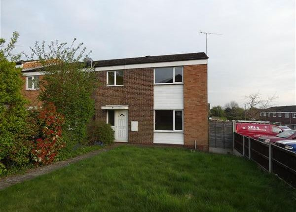 Thumbnail End terrace house to rent in Spencer Walk, Catshill, Bromsgrove
