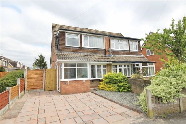 Thumbnail Semi-detached house for sale in Loxton Crescent, Wigan