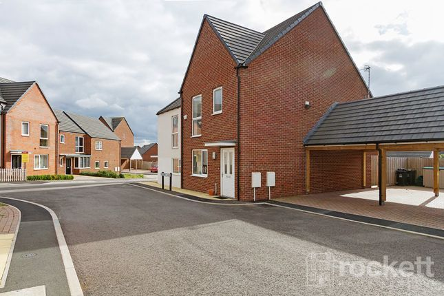 Thumbnail Town house to rent in Vickers Close, Newcastle-Under-Lyme