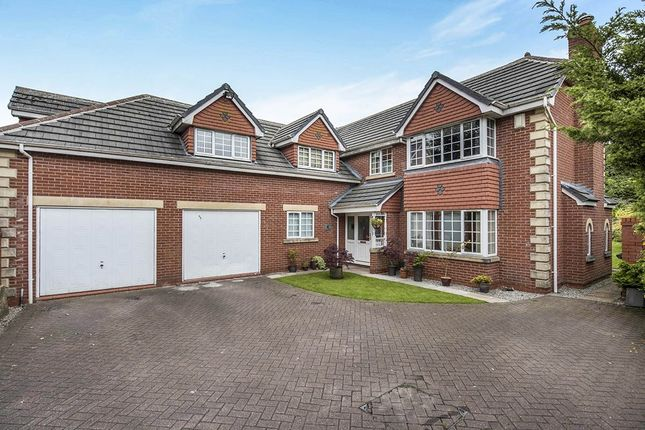 Thumbnail Detached house for sale in The Copse Orrell Road, Orrell, Wigan