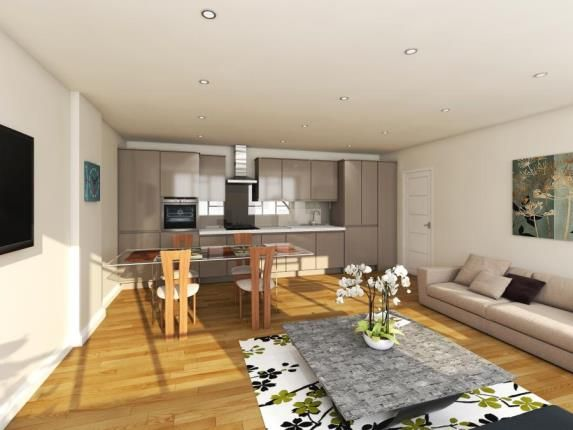Thumbnail Flat for sale in Queensway Apartments, 1-11 Queensway, Bletchley