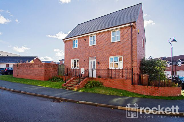 Thumbnail Detached house to rent in Parklands Drive, Weston, Crewe