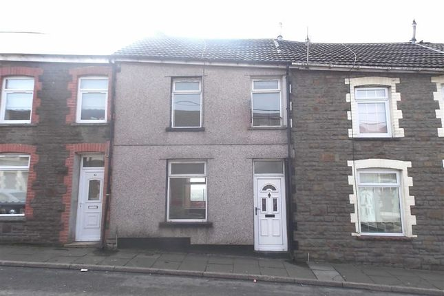 Thumbnail Terraced house to rent in Brocks Terrace, Porth