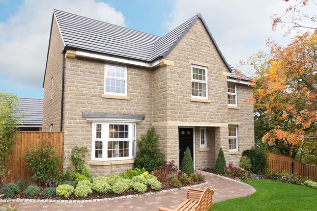 "Thumbnail Detached house for sale in ""Winstone"" at Commercial Road, Skelmanthorpe, Huddersfield"