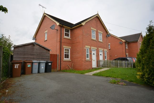 Thumbnail Semi-detached house to rent in Mablins Lane, Crewe