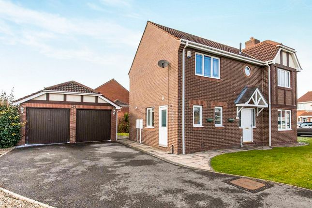 Thumbnail Detached house for sale in Steer Court, Billingham