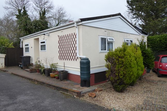 Thumbnail Mobile/park home for sale in The Firs, Bakers Hill, Exeter, Devon