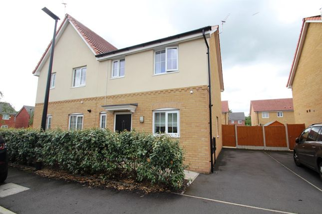 Thumbnail Semi-detached house to rent in Fleming Drive, Stretford, Manchester