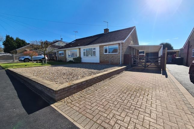 Thumbnail Semi-detached bungalow for sale in Waterloo Crescent, Bidford On Avon