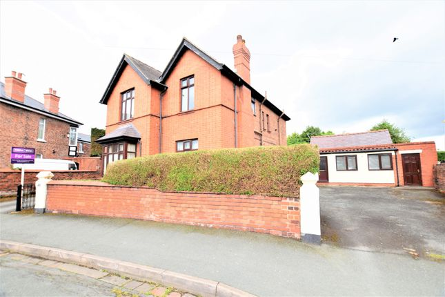 Thumbnail Detached house for sale in 48 Alexandra Road, Wrexham
